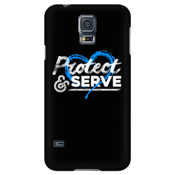 Officer Baker - Protect Cell Phone Cases