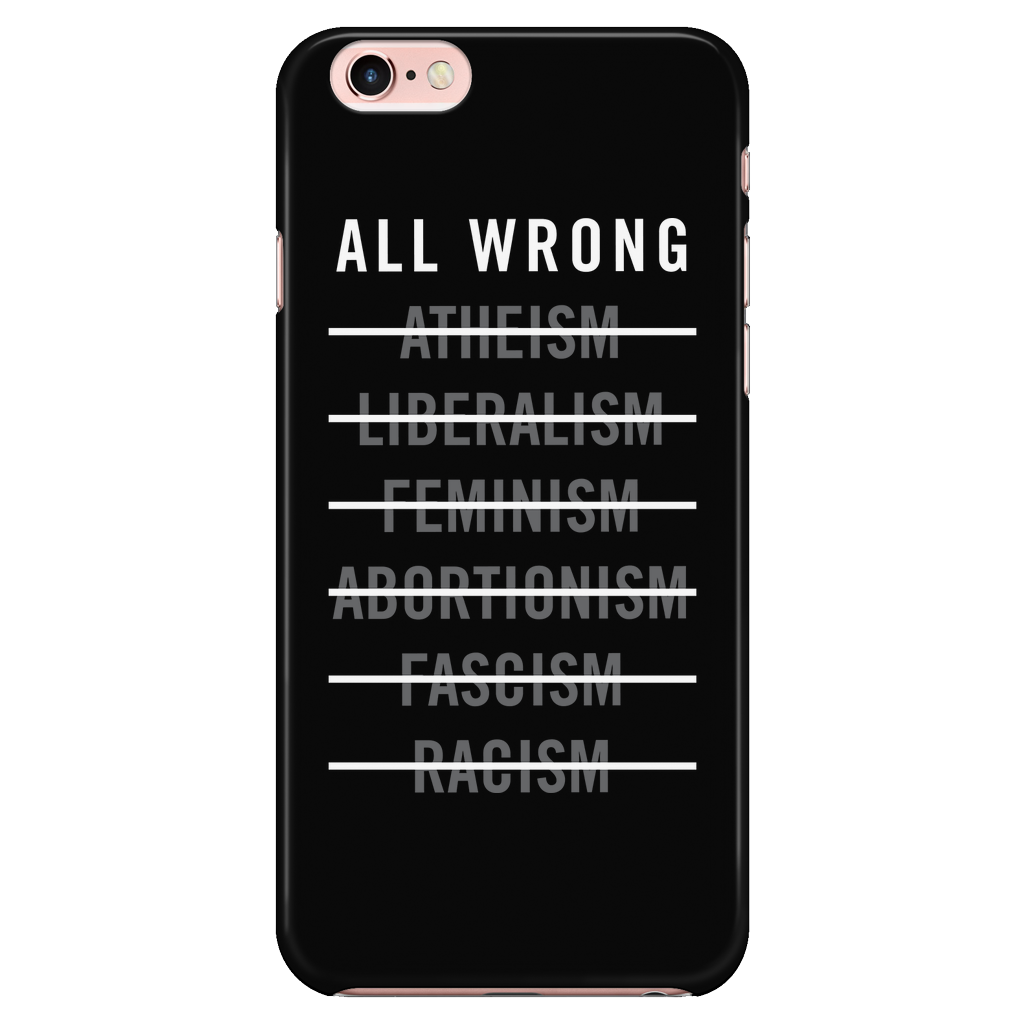 The Radicals - All Wrong - Phone Case