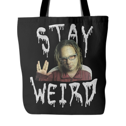 Jonathan Davis - Stay Weird #BeDifferent Tote Bag