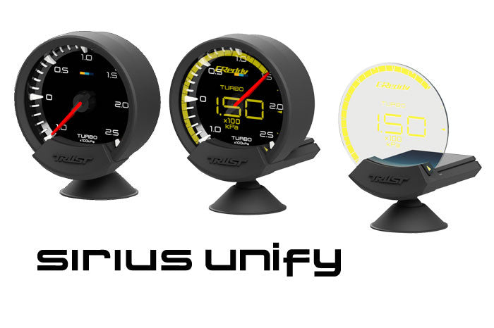 GReddy Sirius Vision, Meter and Unify Sets coming soon...