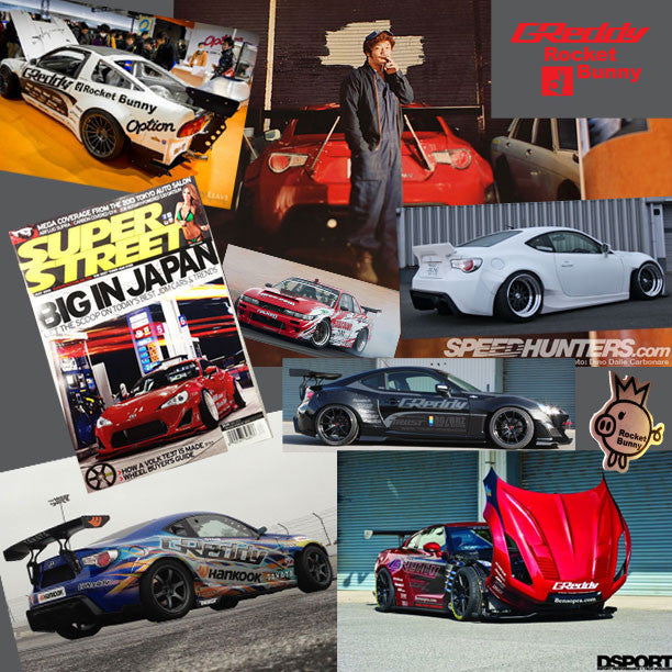 ShopGReddy the Authorized Rocket Bunny + Pandem N. American Distributor