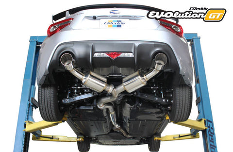 '17 Subaru BRZ / Toyota (ZN6) 86  EVOlution GT Exhaust - Preorder, early July ETA