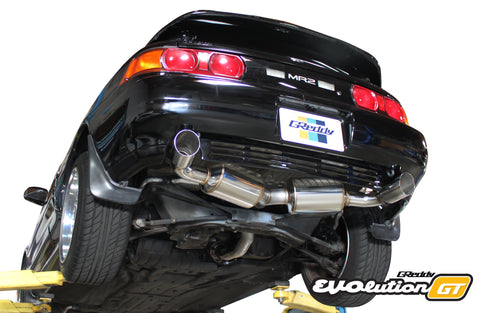 Toyota (SW20) MR-2 Turbo  EVOlution GT Exhaust