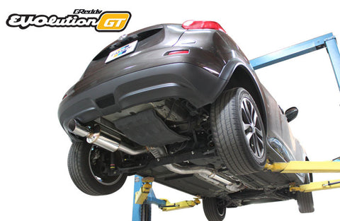 Nissan Juke EVOlution GT Exhaust