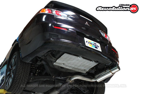 Mitsubishi (JA3AU) Lancer GTS Revolution RS Exhaust - Preorder for Aug Restock