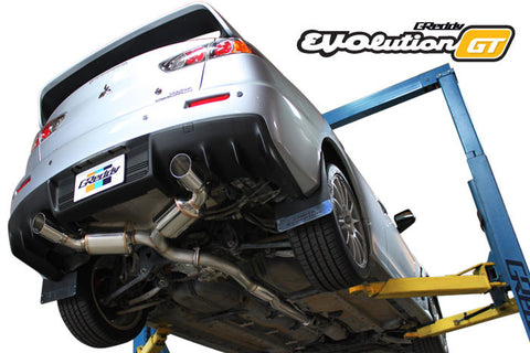 Mitsubishi Evo X (CZ4A) EVOlution GT Exhaust