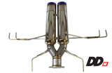 "Honda (FK7) Civic Sport HB  3"" DD-R Muffler Section w/ SUS Tips for Supreme SP Exhaust - NEW!"