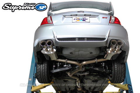 Subaru (GV8) STI Sedan Supreme SP Exhaust