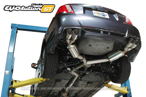 Subaru (GV8) STI / WRX Sedan EVOlution GT Exhaust