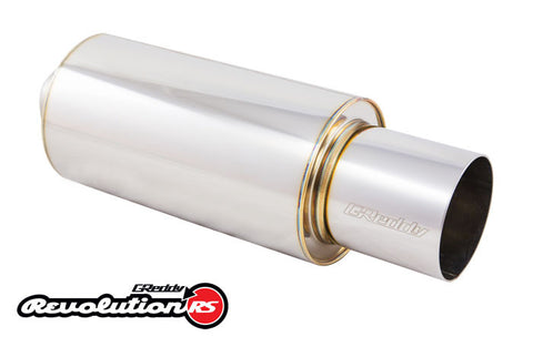"Universal 2.5"" Revolution RS Muffler (140) and Tip (102)"