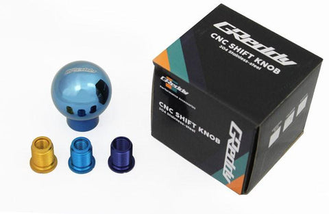 GReddy SUS Shift Knob - Blue Anodized - NEW!