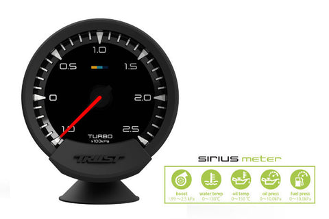Sirius Meter - Analog Turbo Gauge