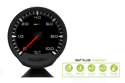 Sirius Meter - Analog Oil Press Gauge