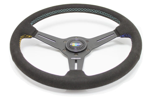GReddy Steering Wheel - GReddy Racing Suede