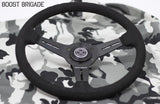 Boost Brigade Suede Steering Wheel