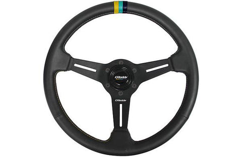 GReddy Steering Wheel - GPP 3 Stripe Steering Wheel Leather - 12/16 Limited 1st Release