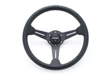 "GReddy Black Ed. ""Medium-dish"" Sport Steering Wheel  - Online Store Exclusive"