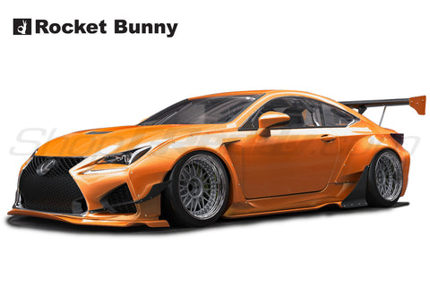 Rocket Bunny Aero - Lexus RCF,  Full kit in-stock now!