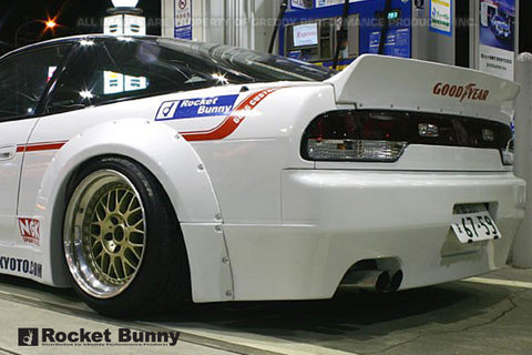 JDM coupe RB wing spoiler for 240sx Nissan Silvia S13 rocket ducktail