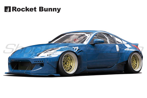 Rocket Bunny V2 Aero - Nissan 350Z (Z33). Full Kit In-stock!