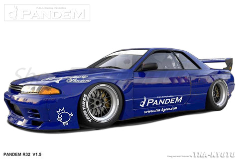 Pandem Aero - Nissan Skyline GT-R (R32) V1 or V1.5 (V1 Full Kit In-stock)
