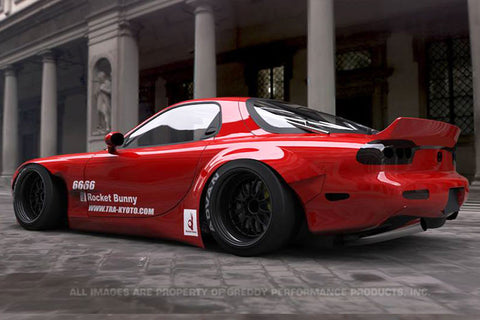 Modified S2000 >> Rocket Bunny V2 Aero - Mazda RX7 (FD3S) – shopgreddy