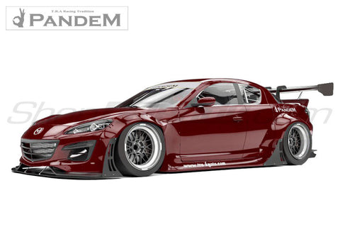 Pandem Aero - Mazda RX8 (SE3P) - Full Kit in-Stock – shopgreddy