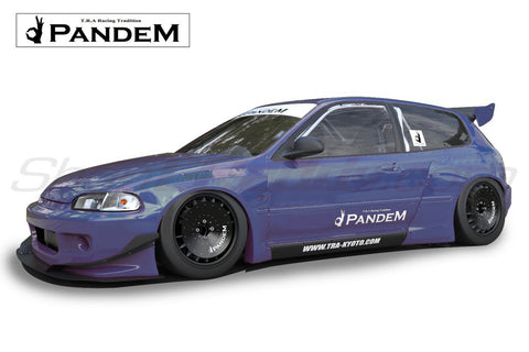 Pandem Aero - Honda Civic (EG) Ver. 1 & Ver. 1.5 - (Full Kit In-stock)