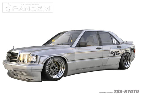NEW Pandem Aero - Mercedes (190E) - Now Accepting Pre-orders!