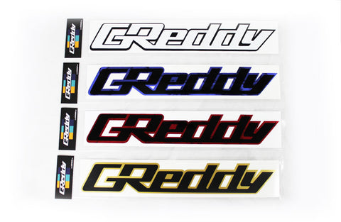 "GReddy Die Cut Decal - 14"" Dual Layer"