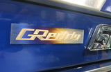Optional Titanium GReddy Emblem - (105x20mm)
