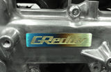 Titanium GReddy Emblem - (70x15mm) - NEW