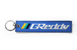 GReddy GPP Pre-Flight Keychain (Black or Blue)