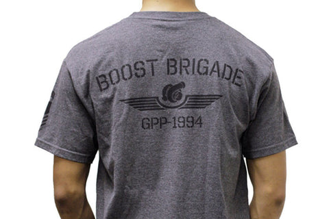 GReddy x Boost Brigade Turbo Wings Tee