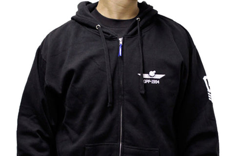 GReddy x Boost Brigade Turbo Wings Zip-up Hoodie