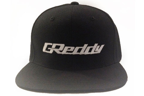 GReddy Logo Snap-Back Cap - Black