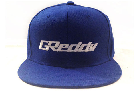 GReddy Logo Snap-Back Cap - Royal Blue