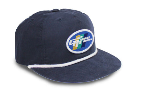 GReddy Unstructured 5 Panel Cap - Navy Blue
