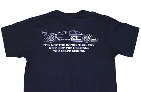 GReddy Performance Products Heritage Tee, 962C - Navy Blue