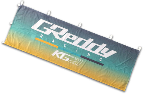 GReddy Racing KG21 Nobori Flag / Banner - Gradient  - NEW!