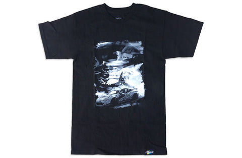 GReddy x KGUSHI21 Smoke Black Tee