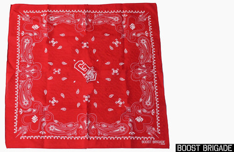 GReddy X Boost Brigade Bandana - Red