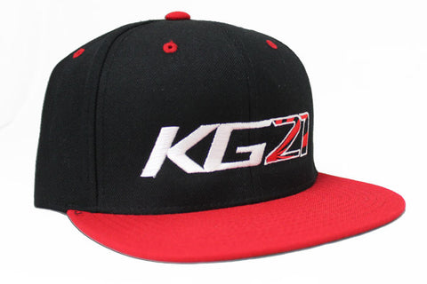 "Team GReddy Racing ""KG21"" Snap-Back Cap - Red/Black"