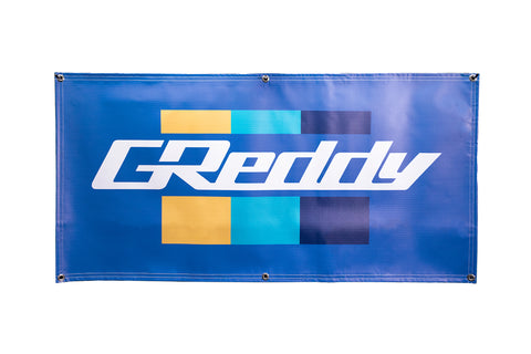 GReddy Hanging Banner - Royal Blue - NEW!