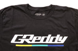 GReddy Logo Tee / Tank Top (with 3 stripes under) - Black - NEW