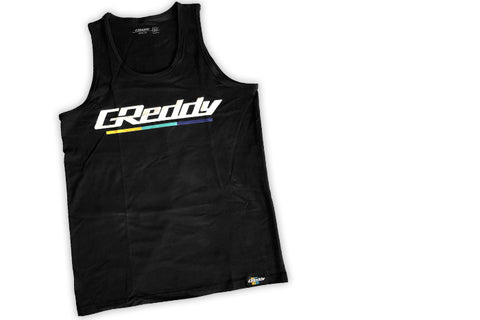 GReddy Underling GReddy Logo Tank Top - Black   NEW!