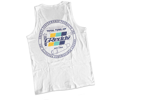 GReddy Seal Tank Top - White   NEW!