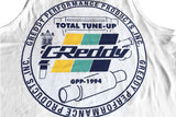 GReddy GPP Seal Tee / Tank Top - White
