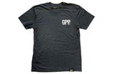 GPP Text Tee - Blue Heather