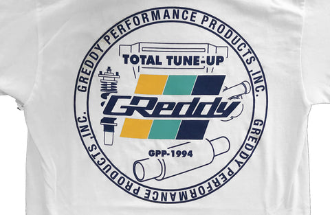 GReddy Seal Tee - White